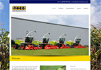 Anker Machinery want to highlight the high quality farm machinery they supply. The subject lent itself to the use of large images and video.