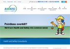 Award Health and Safety wanted a website which is unintimidating for a first time business visitor. The use of cartoons and lack of jargon achieve this.
