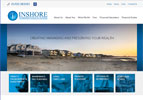 Inshore IFA's website aims to convey a professional image. The use of local photographs emphasises that they are locally based.