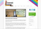 Leanne's painting and decorating business needed a website which would showcase their work and display customer testimonials.