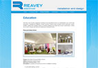 Reavey and Son undertook a rebranding of their company and needed a website which would show the scale of the commercial contracts they were delivering